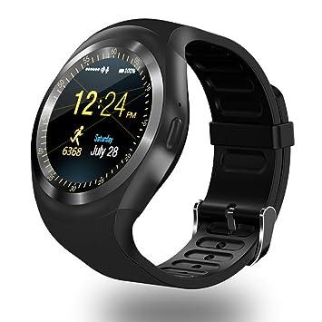 ZOMTOP Y1 SmartWatch Bluetooth: Amazon.es: Electrónica