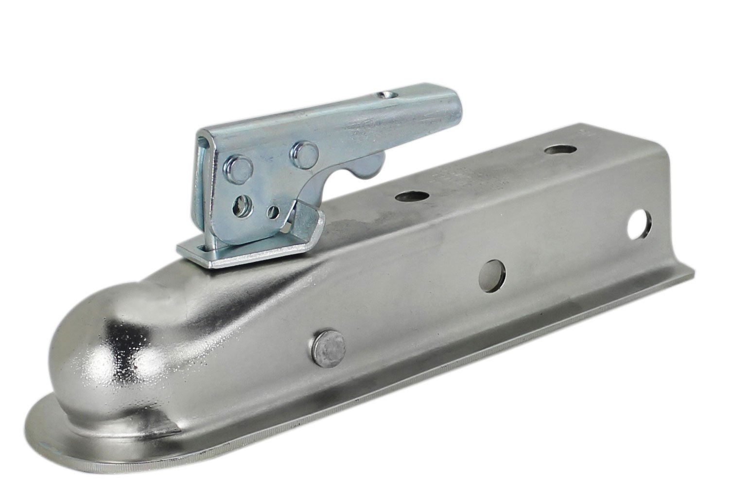 Quick Products QP-HS3023Z 2'' 2'' Trailer Coupler (Zinc Trigger-Style - 2'' Ball, 2'' Channel - 3,500 lbs.) by Quick Products