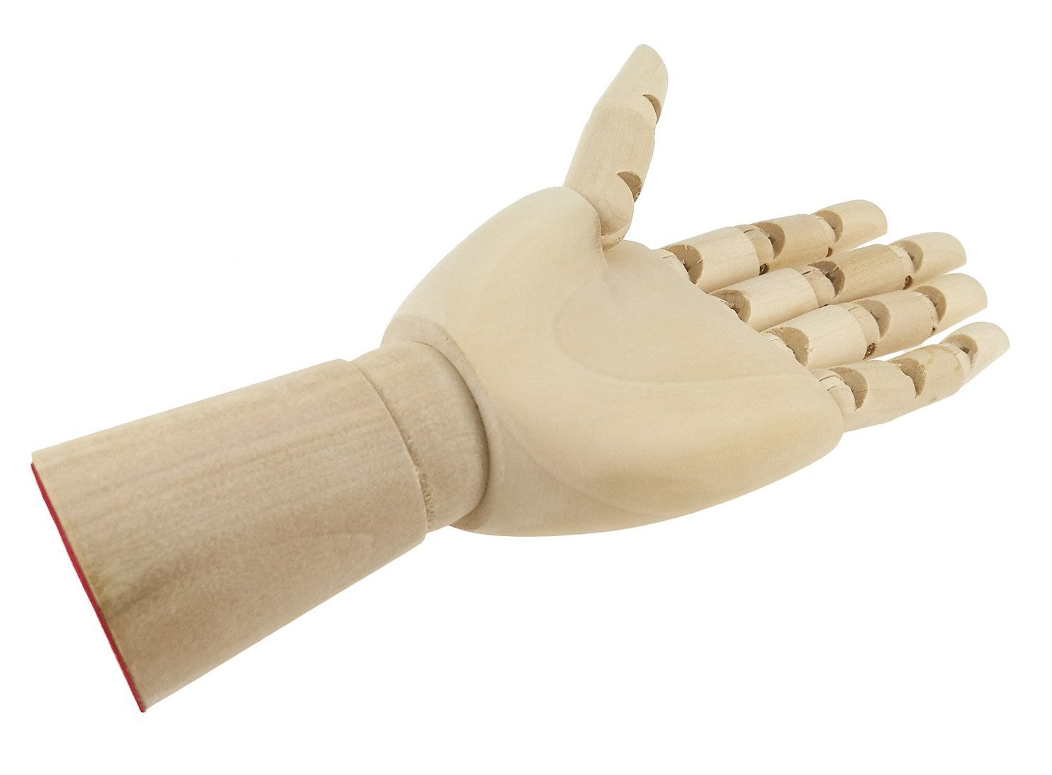 7 Inches-Right Hand Wooden Pine Movable Hand Joint Model For Art Mannequin Sketch Reference Home Decor