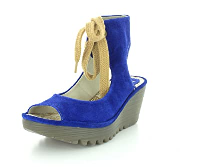 5c73aa02abb11 FLY London Women's Yaffa Ankle Strap Wedge