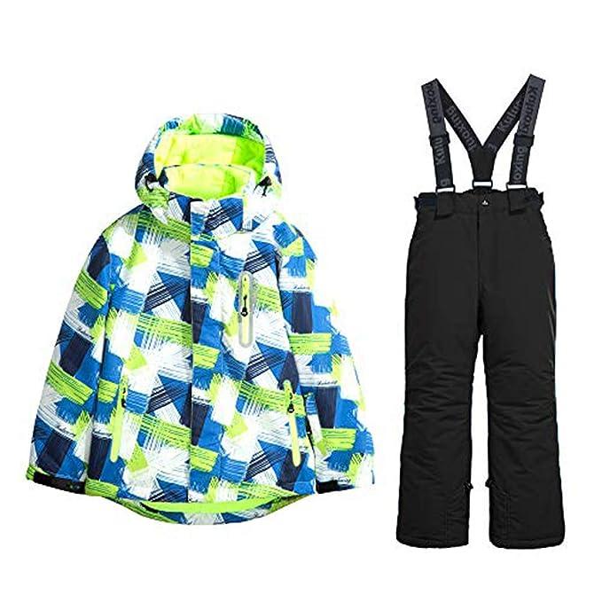 Amazon.com: Chaqueta de esquí y pantalones de nieve con ...