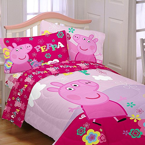 Peppa Pig Girls Twin Bedding Collection - Buy Online in ...