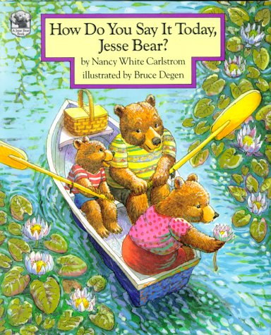 Great White Bear - How Do You Say It Today, Jesse Bear?