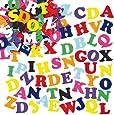 Pack Ahorro de Letras de Alfabeto de Fieltro Autoadhesivas Pegatinas para Decorar Tarjetas, Álbumes y Otras Manualidades Infantiles (Pack de 550)