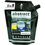 Sennelier Abstract Acrylic Pouch Set, Includes 8-21ml Tubes of Color (10-121826-00)