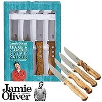 JAMIE OLIVER - Jumbo-Steakmesser, 4-teilig