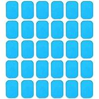 Amasawa 30 Tabletas EMS Gel Hojas,Gel Pad para EMS Electroestimulador Muscular Abdominales, EMS Gel Hojas para…