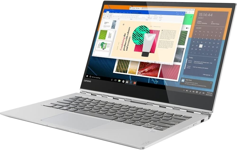 """Lenovo Yoga 920 - 13.9"""" FHD Touch - 8Gen i7-8550U - 8GB - 256GB SSD - Platinum"""