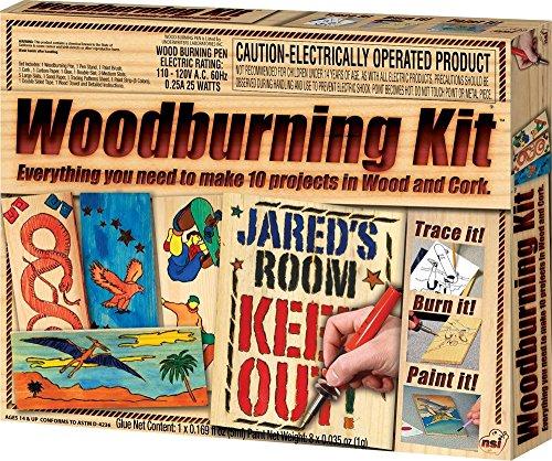 wood burning kit wood - 7