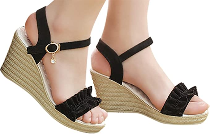 3e491bbdda06f Amazon.com: Fainosmny Fashion Thick Bottom Sandals Platform Womens ...