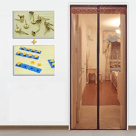 Reinforced Magnetic screen door, Encryption soft screen door ...