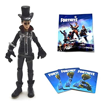 ARUNDEL SERVICES EU Fortnite Figura 9cm Diseños Surtidos Y 3 Cartas de Juego Fortnite Battle Royale