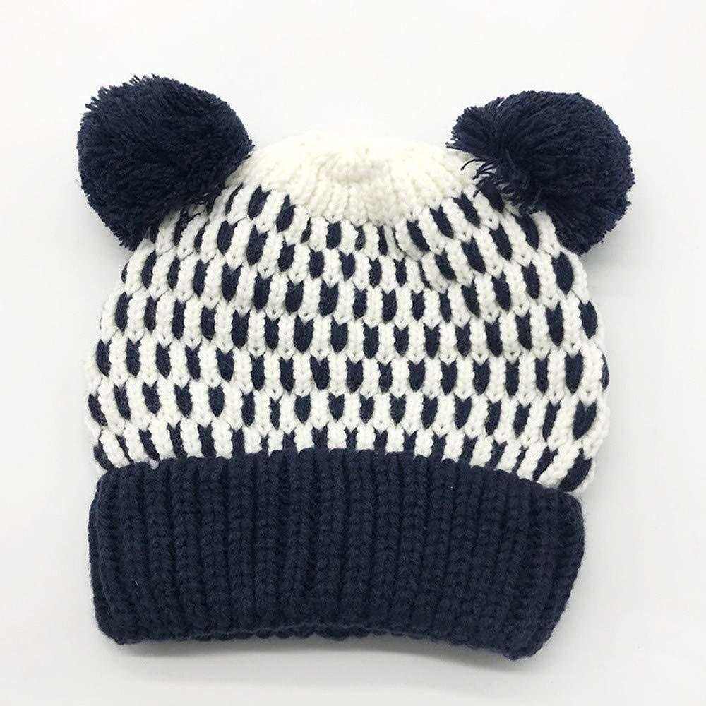 Amazon.com: Little Kids Cartoon Winter Warm Hat,Jchen(TM) Clearance Baby Kids Beanie for Boys Girls Cap Knitted Winter Keep Warm Children Hats for 1-5 Years ...