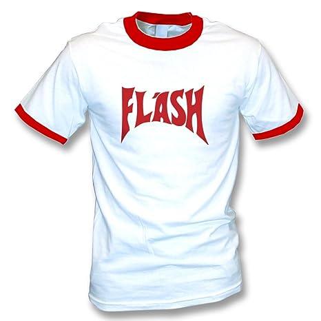 TshirtGrill La Camiseta del Flash (según lo Llevado por Freddie ...