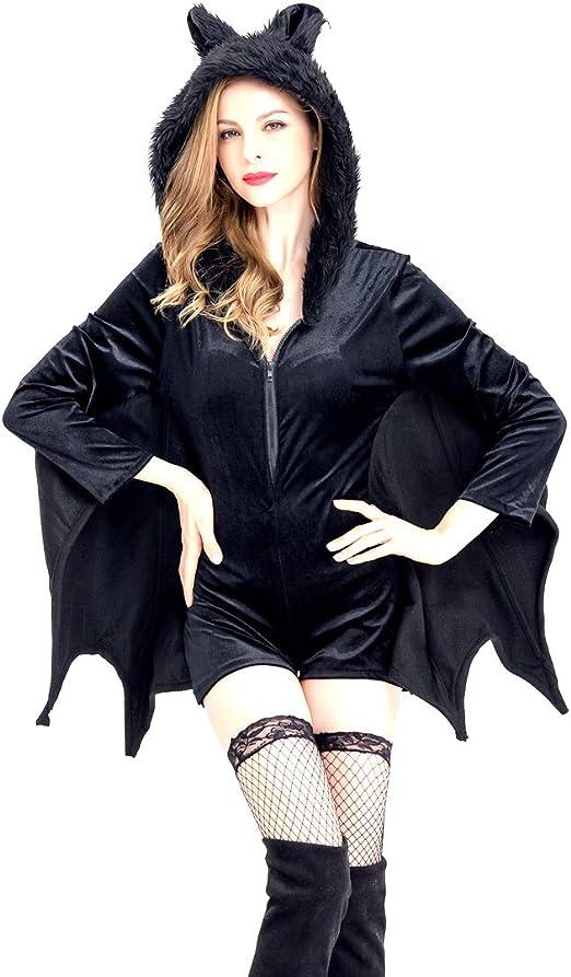 GAOJUAN Disfraz De Halloween Disfraz De Batman Mujer Disfraz De ...
