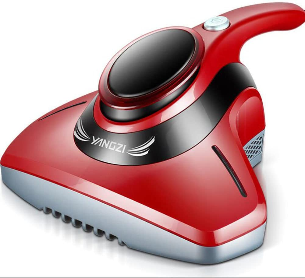 Lblll Vacuum Cleaner Dust Mites Bed Mites Machine Ultraviolet Sterilization in Addition to A Sofa Bed Mites Removal Instrument Carpet Sofa Bed Bedroom,Red