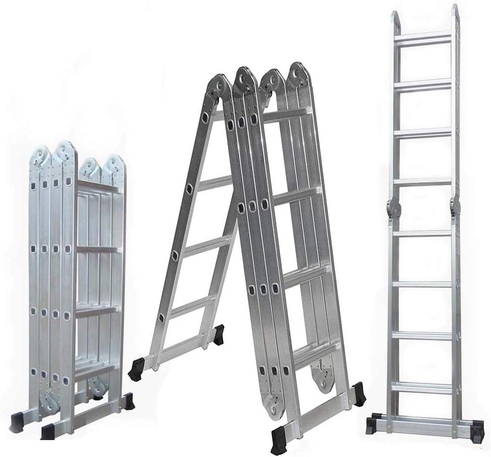 GABZ 4x4 - Escalera multifunción (4,7 m, aluminio): Amazon.es: Bricolaje y herramientas
