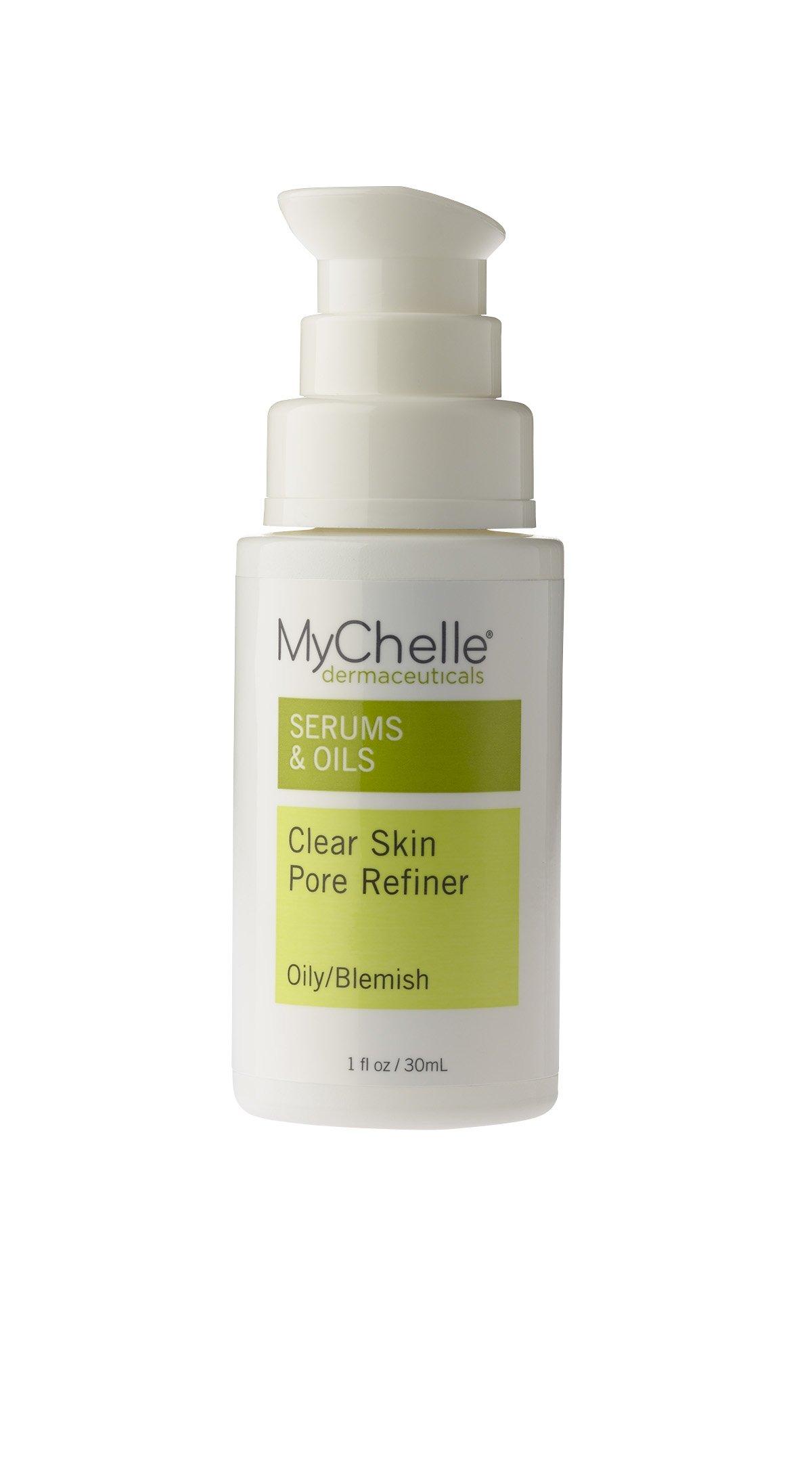 MyChelle Dermaceuticals Clear Skin Serum - Pore-refining Serum for oily & blemish-prone skin, Smooth & Matte Finish Skin, cruelty-free, 1.0 Fl Oz