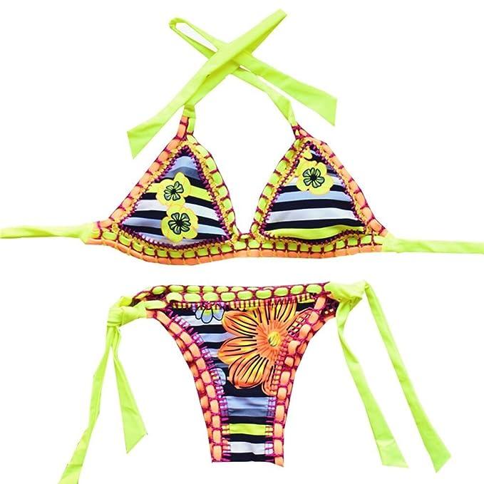 Sherry007 Sexy Handmade Crochet Bikini Swimsuit…
