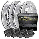 [FULL KIT] PLATINUM HART DRILLED SLOT BRAKE ROTORS AND CERAMIC PAD PHCC.6307902