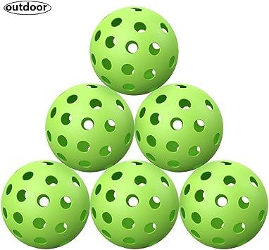 Amazon.com: ZOEA - Juego de bolas de pickleball luminosas ...