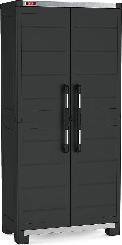 Keter Armoire Basse Xl Garage Noir Cabinets 89x54x99 Cm