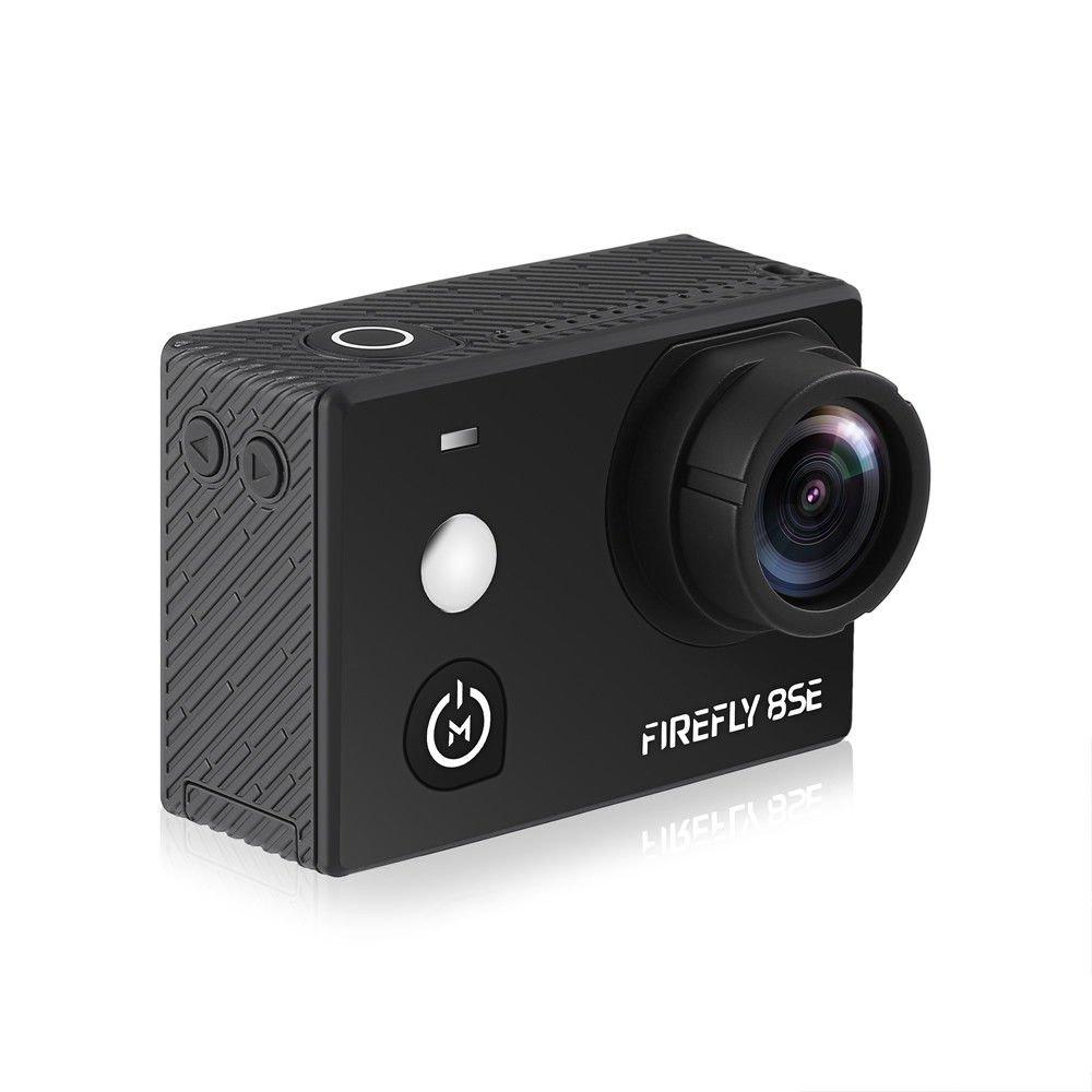 Hawkeye Firefly 8SE mit touchscreen Native 4 K 30 fps WiFi Sport Action Kamera mit 170 Grad Weitwinkelobjektiv, sechsachsige Gyro Video-Stabilisierung, frontal Selfie Spiegel und reichhaltige Set von Zubehör. Speicher bis zu 128 GB MicroSD. Nachfolger von