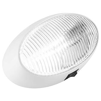 Amazon Com Lumitronics Led Oval Porch Utility Light With Onoff