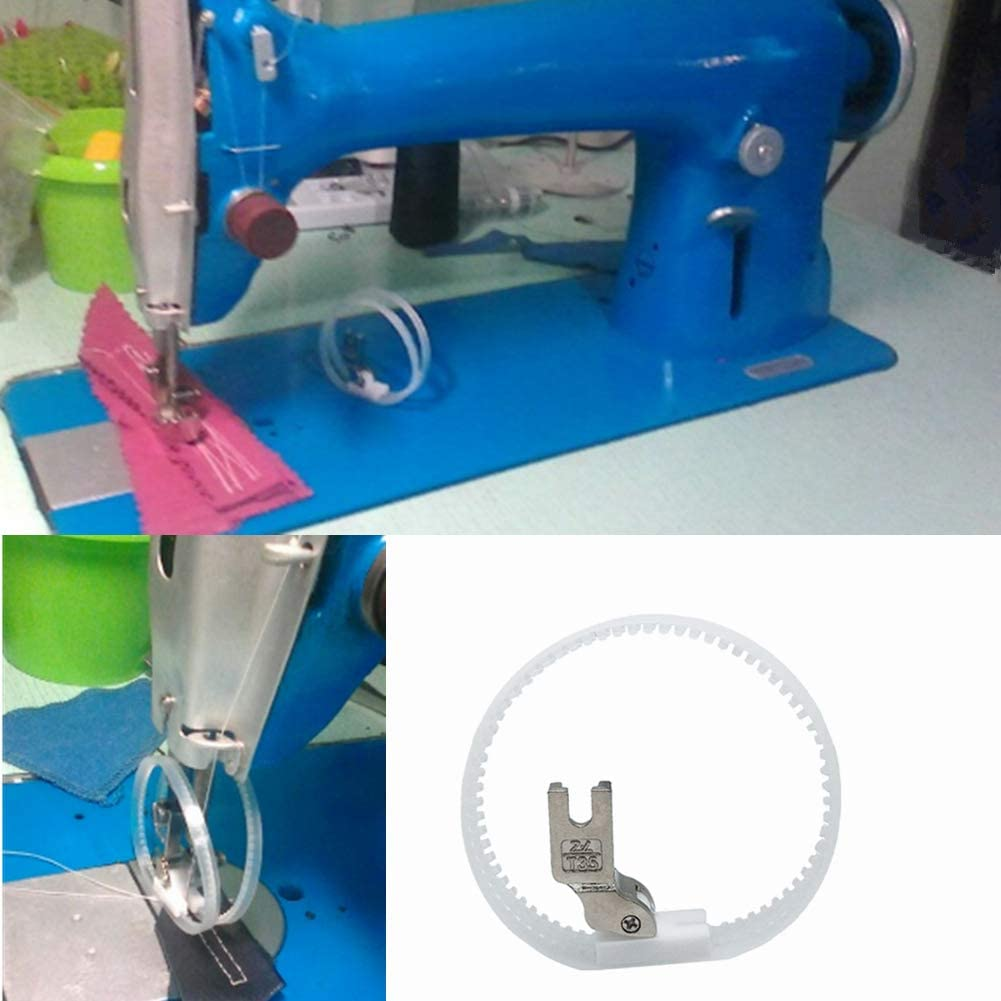 Industrial Sewing Machine Ring Teflon Foot Roller for Leather PVC High Quality