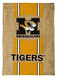 Burlap University of Missouri Tigers Garden Flag, 12.5 x 18 inches