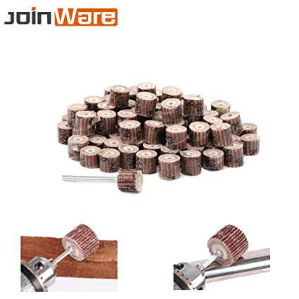 80//120//180 Grit Sanding Flap Wheel Polishing Grinding Accessories Tool