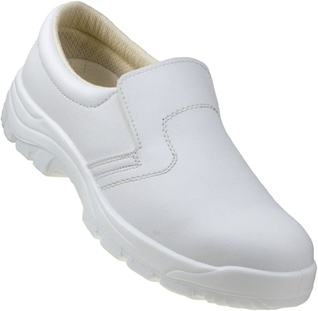 white food saftey shoes