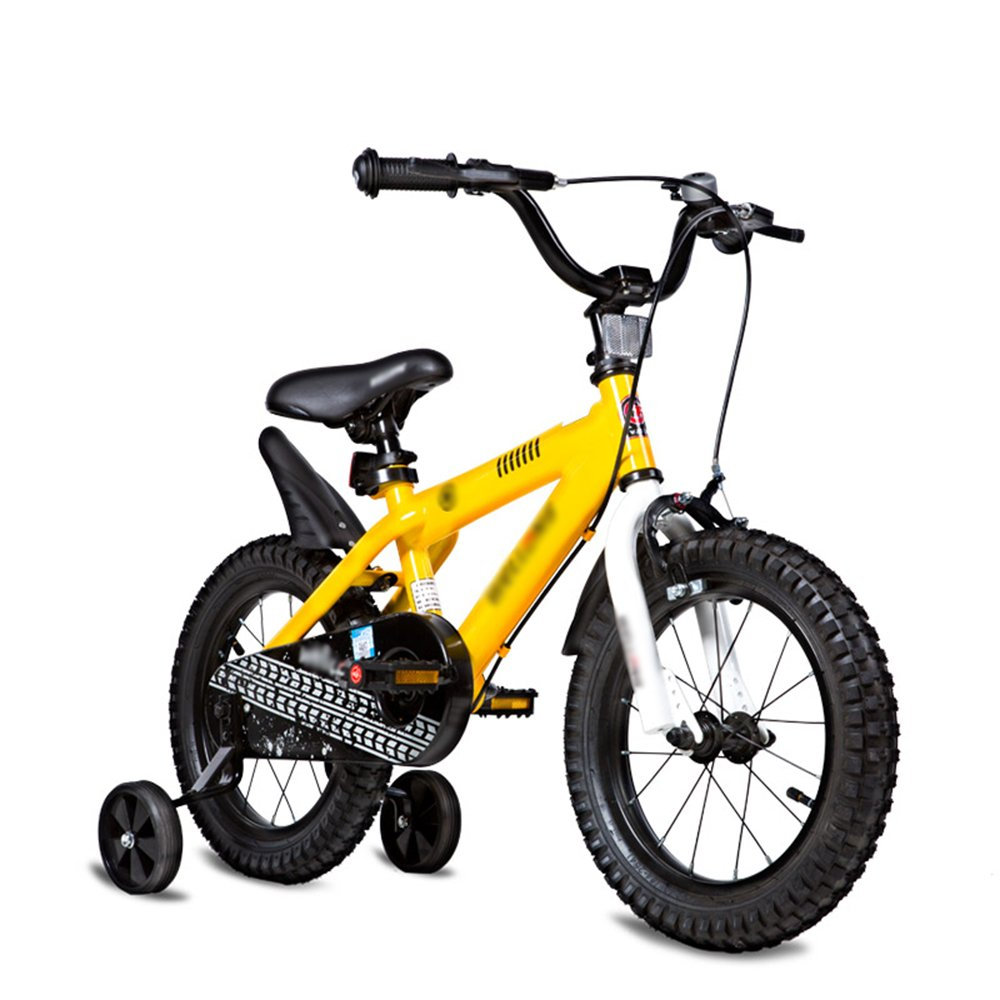 HAIZHEN マウンテンバイク 子供の自転車のサイズオプション12インチ14インチ16インチ18インチ20インチ環境保護材料6色オプション 新生児 B07C6R3VBG 18 inches|イエロー いえろ゜ イエロー いえろ゜ 18 inches