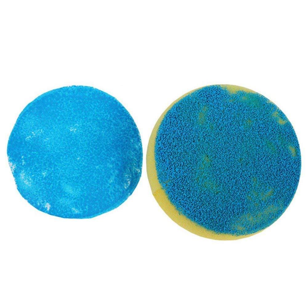 Naliovker 10 St/ücke Runde Synthetische K/ünstler Farbe Schwamm Handwerk Schwamm Malerei Keramik Aquarell Kunst Schwamm Gelb 2.75 Zoll