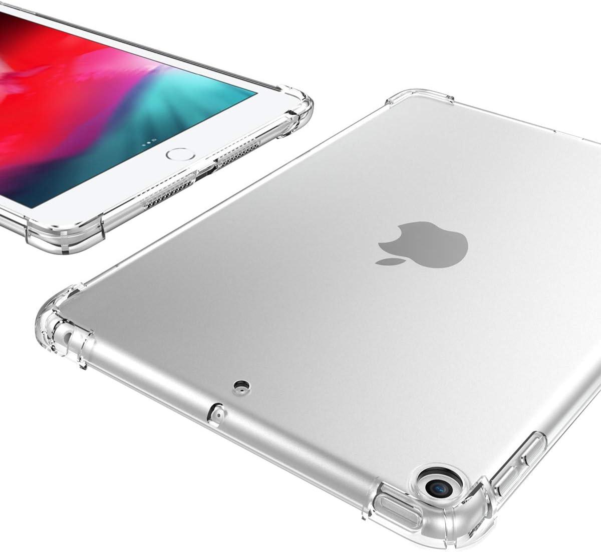 iPad Mini 5 Case Soft TPU Slim Cover for Apple iPad 7.9 inch 2019 iPad Mini 5 Generation Back Cover Silicone Clear