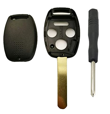 Uncut Key Blank Blade For Honda Accord Civic CR-V Element Fit Remote Replacement