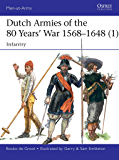 Dutch Armies of the 80 Years' War 1568–1648 (1): Infantry (Men-at-Arms Book 510) (English Edition)