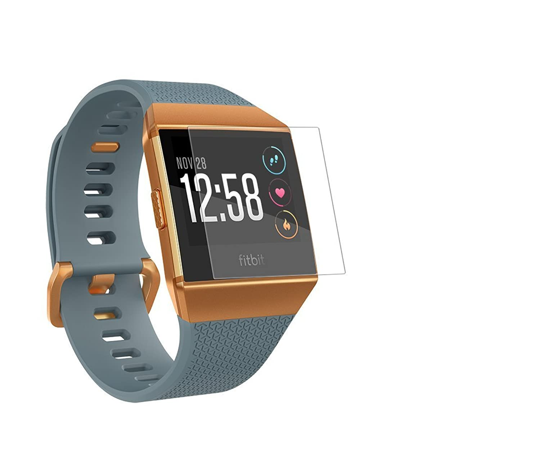 Fitbit Ionic用交換バンド ストラップ フィットビットロニック ステンレススチールメタル リンクリストバンド 交換用ブレスレットストラップ( Fitbit Ionic用) Glass B076NMVT6X  Glass