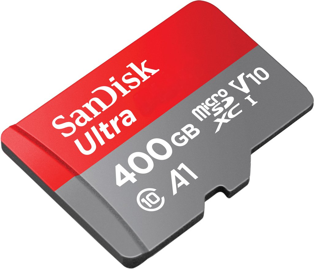 Professional Ultra SanDisk 400GB Xolo Era 4K MicroSDXC card with CUSTOM Hi-Speed, Lossless Format! Includes Standard SD Adapter. (A1/UHS-1 Class 10 Certified 100MB/s)