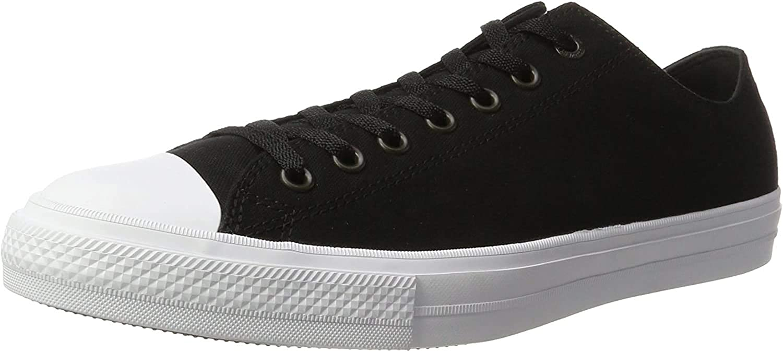 Converse Men's Ct Ii Ox Sneakers Black Black White Navy