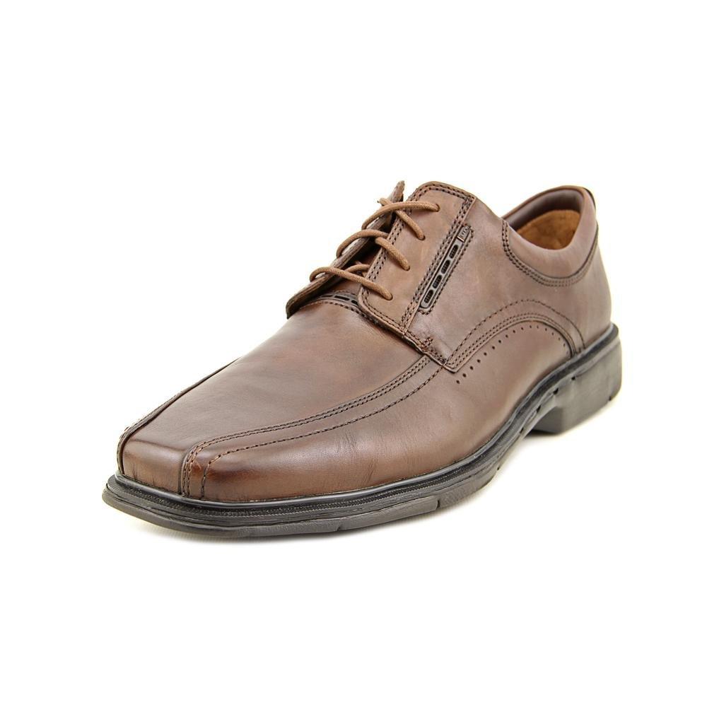 Clarks Mens Un.Kenneth Oxford Dark Brown Leather Size 10.5