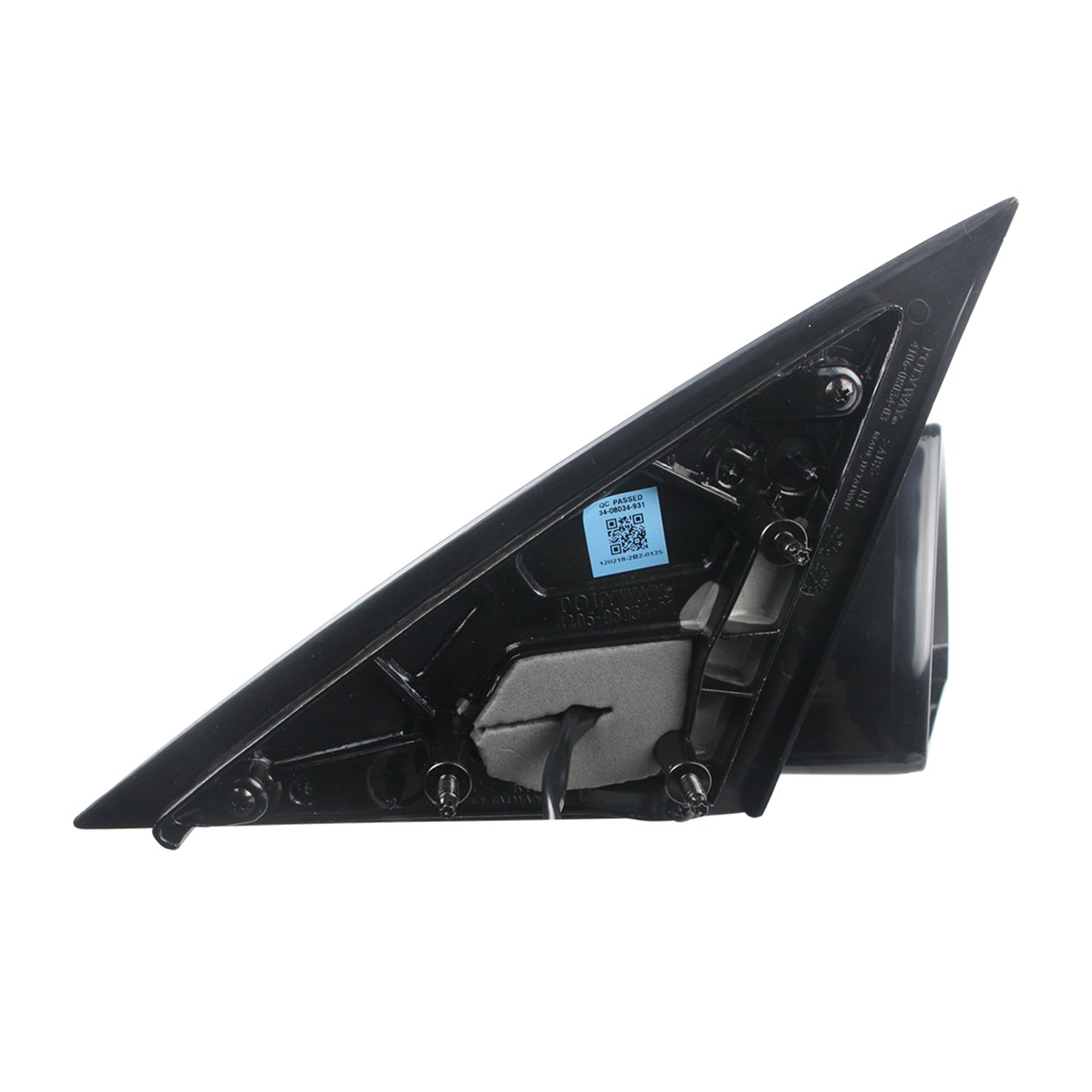 TYC 1390132 Chevrolet Impala Driver Side Power Non-Heated Replacement Mirror