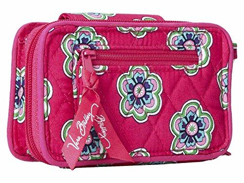 Women's Pink Flowers Vera Swirls Iphone Wristlet Handbag 6 Bradley Smartphone CAAqz5wF