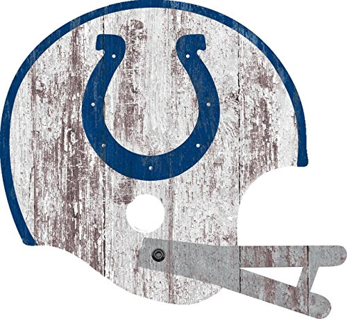 - Fan Creations Indianapolis Colts Sign - Large Wood Helmet