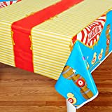 Carnival Games Party Supplies - Plastic Table Cover