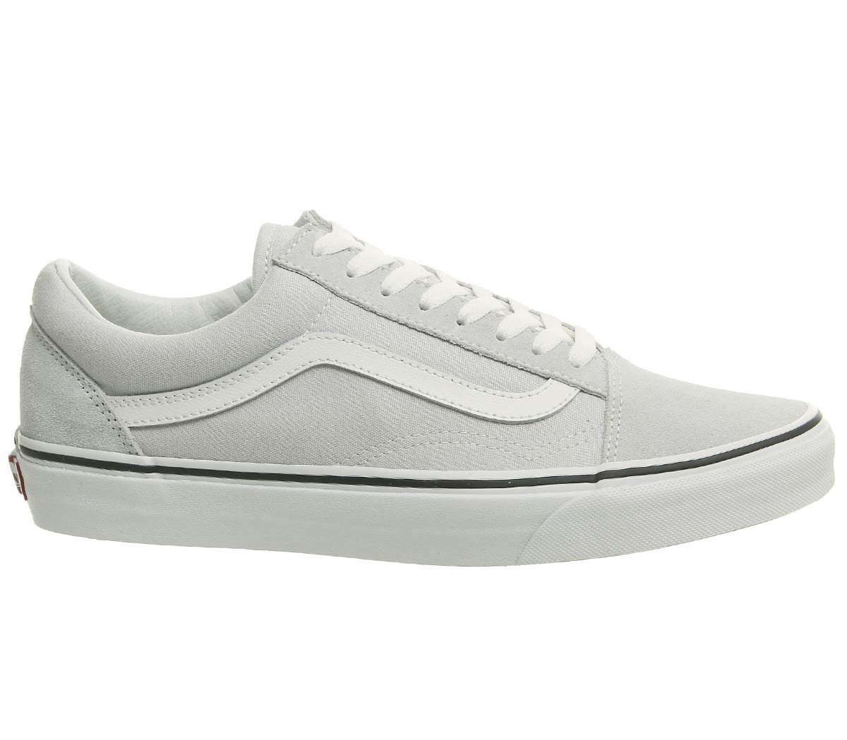 fe42644de557 Galleon - Vans Old Skool Gray Dawn True White (7.5 M US Women   6 M US Men