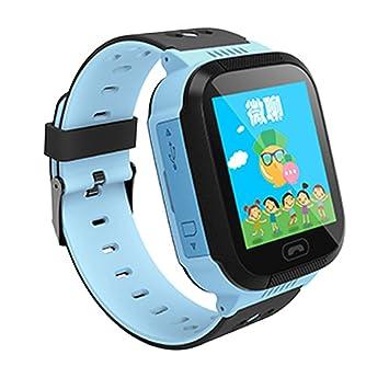 Rastreador Niños LBS Reloj Smartwatch Niños Relojes Inteligentes Niños Español Soporte LBS de Posicionamiento para Evitar