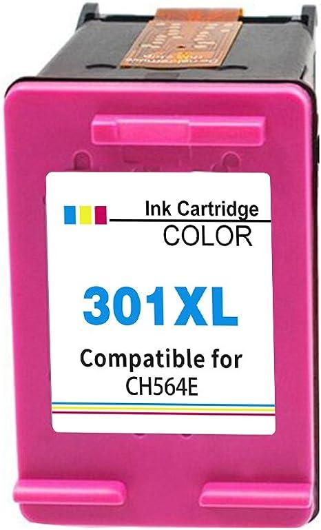 Ink_seller Remanufacturado HP 301 301XL Cartucho de Tinta, 1 ...