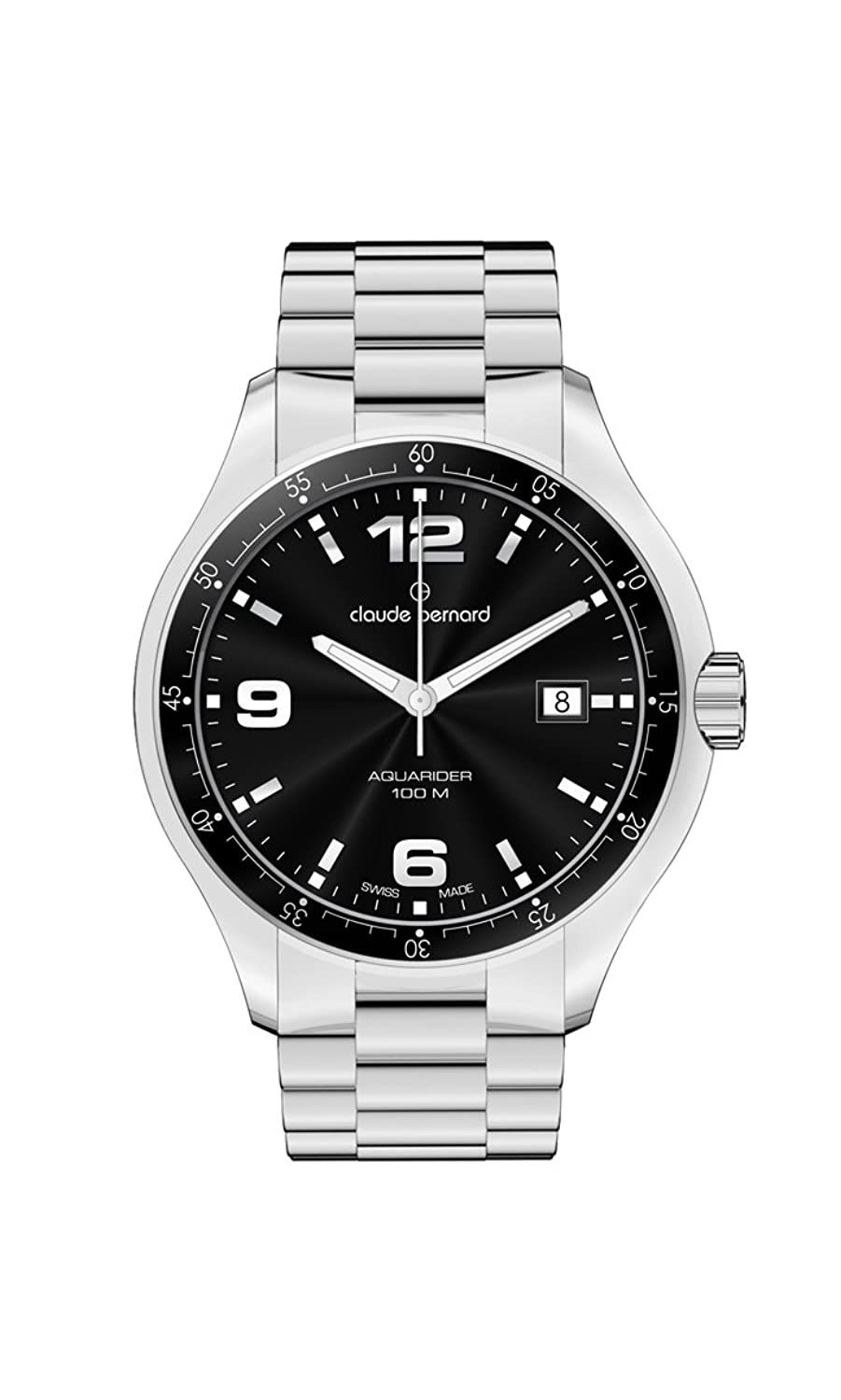 Claude Bernard SPORTING SOUL Aquarider Black 41mm 70167 3 NIN