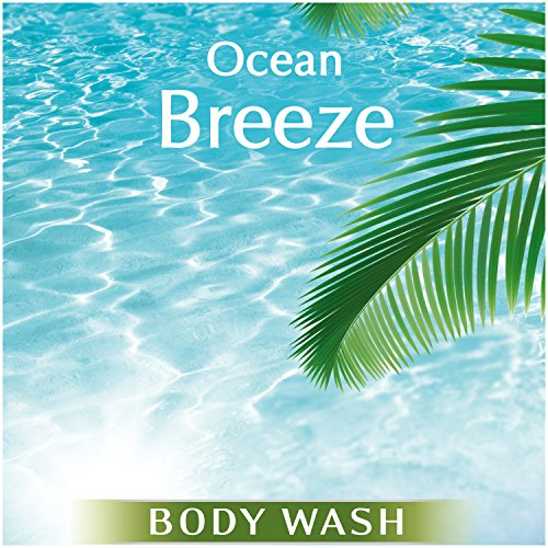 Suave Essentials Body Wash, Ocean Breeze 12 oz (Pack of 6)